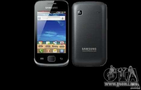 Samsung Galaxy Gio para GTA San Andreas