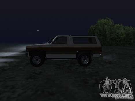 Ranchero de GTA 4 para GTA San Andreas left