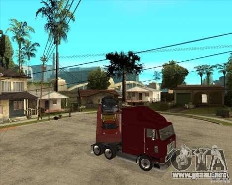 Carro del semi-remolque para vista inferior GTA San Andreas