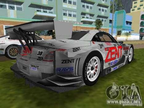 Lexus SC430 GT para GTA Vice City vista lateral izquierdo