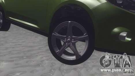 Ford Focus sedan para la visión correcta GTA San Andreas