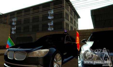 BMW 750Li para la visión correcta GTA San Andreas