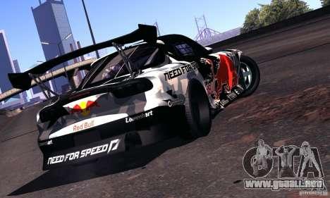 Mazda RX-7 Mad Mike para la visión correcta GTA San Andreas
