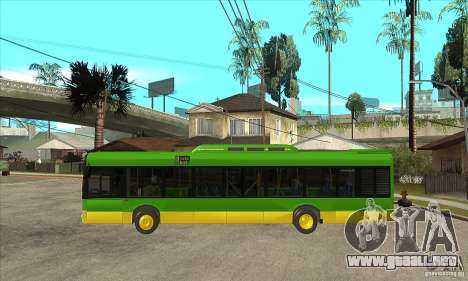 Solaris Urbino 11 para GTA San Andreas left