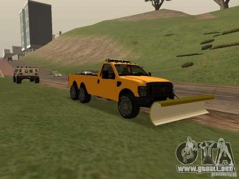 Ford Super Duty F-series para GTA San Andreas