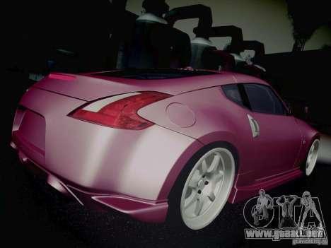 Nissan 370Z Fatlace para la vista superior GTA San Andreas
