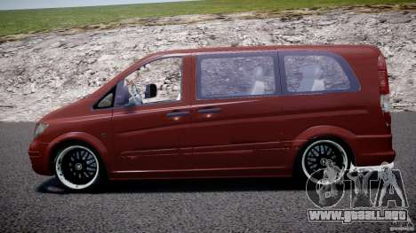 Mercedes-Benz Vito SportVIP para GTA 4 left