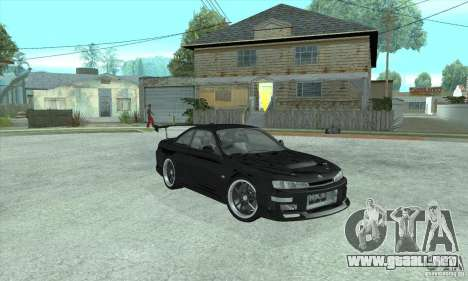 NISSAN SILVIA S14 CHARGESPEED FROM JUICED 2 para GTA San Andreas left