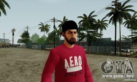 Sustituto de piel Bmyst para GTA San Andreas