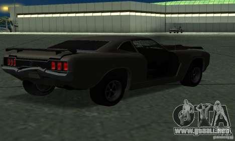 Cazador de caballería de Burnout Paradise para GTA San Andreas left