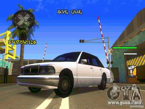 HUD Convenient and easy BETA para GTA San Andreas