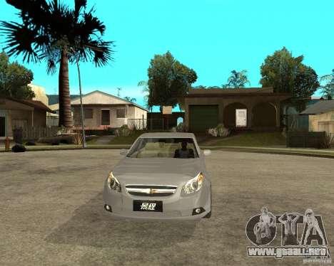 Cheverolet Epica para GTA San Andreas vista hacia atrás