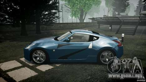 Nissan 370Z Coupe 2010 para GTA 4 left