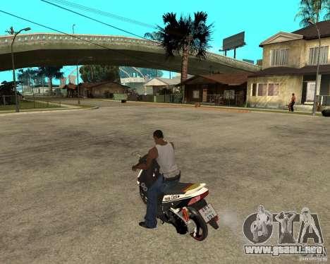 Honda Click para GTA San Andreas left