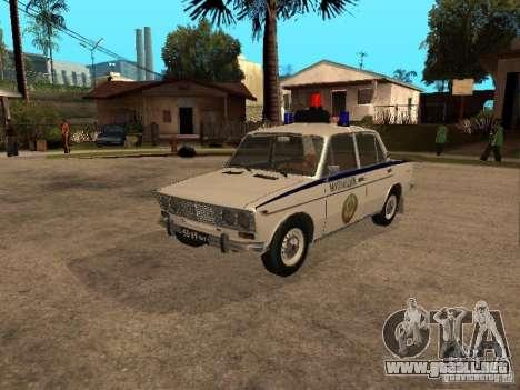 Policía VAZ 2103 para GTA San Andreas