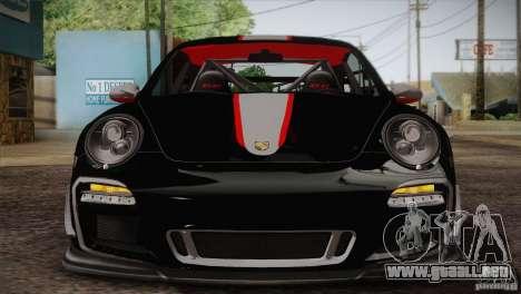 Porsche 911 GT3 para GTA San Andreas vista posterior izquierda