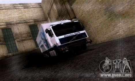 Volvo F10 para vista lateral GTA San Andreas