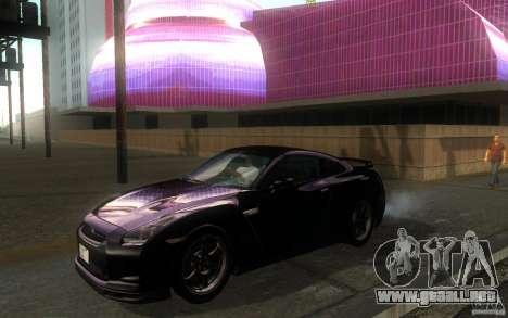 Nissan GTR R35 Spec-V 2010 para GTA San Andreas left
