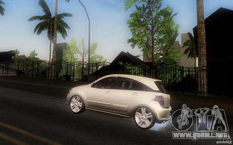 Chevrolet Agile 2012 para GTA San Andreas left
