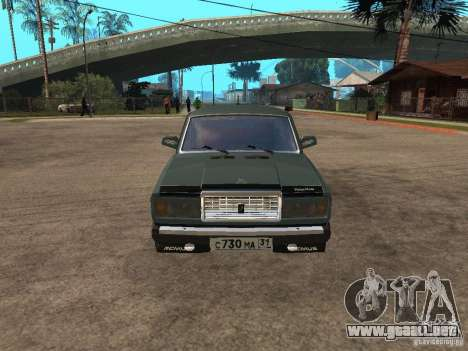 ВАЗ 21074 para GTA San Andreas left