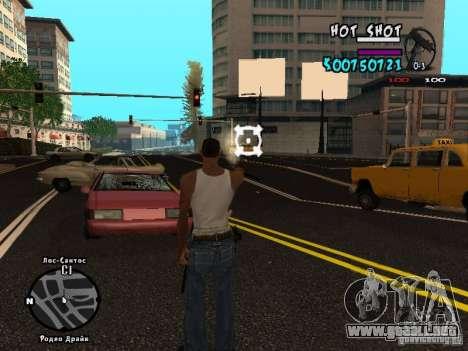 HUD by Hot Shot v.2.2 for SAMP para GTA San Andreas tercera pantalla