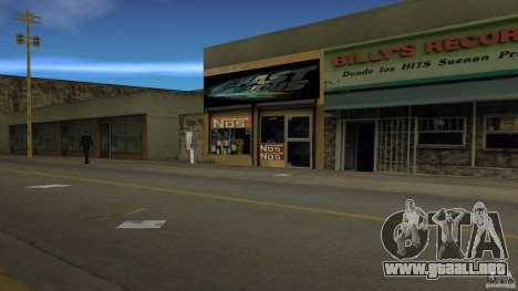 Der 2 Fast 2 Furious Shop para GTA Vice City segunda pantalla