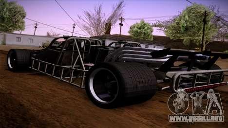 Tirón auto de Furious 6 para GTA San Andreas left