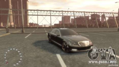 Mercedes-Benz S350 VIP para GTA 4 left