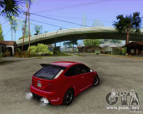 Ford Focus RS para GTA San Andreas left