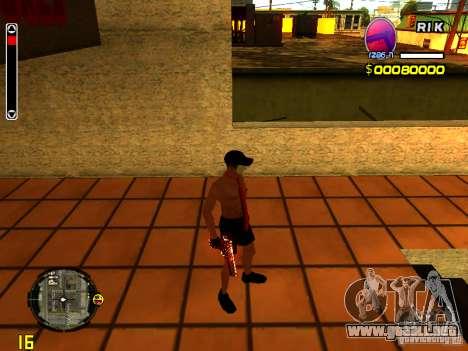 Hombre piel playa para GTA San Andreas sucesivamente de pantalla