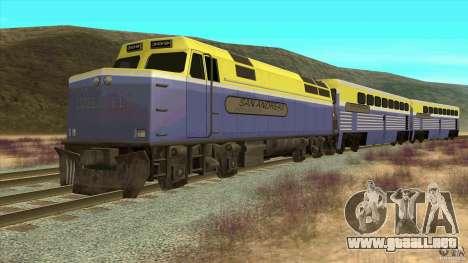 Latvian Train para GTA San Andreas