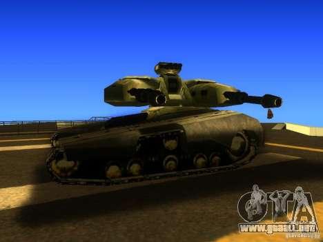 Star Wars Tank v1 para GTA San Andreas vista posterior izquierda
