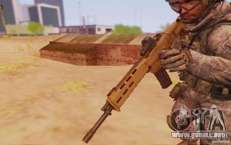 ACR con Mira holográfica para GTA San Andreas segunda pantalla