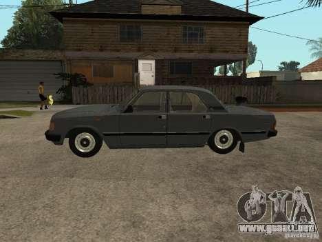 GAZ 31029 para GTA San Andreas vista posterior izquierda