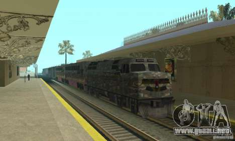 Tren de Camo para GTA San Andreas
