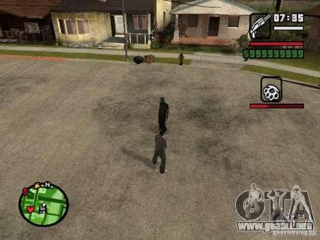 Recarga HP y armaduras segundo jugador v1.0 para GTA San Andreas