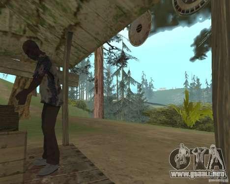 En una visita a la abuela para GTA San Andreas tercera pantalla