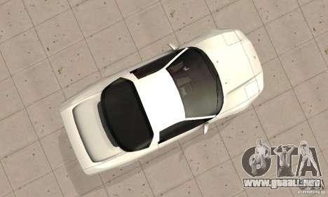 Acura NSX 1991 para la visión correcta GTA San Andreas