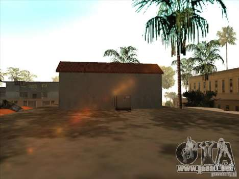 Mapa de Parkour y bmx para GTA San Andreas sucesivamente de pantalla