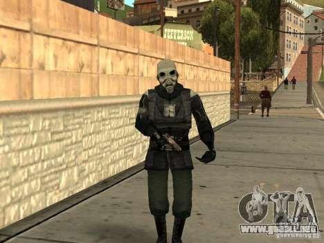 Cops from Half-life 2 para GTA San Andreas
