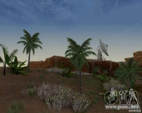 HQ Country N2 Desert para GTA San Andreas segunda pantalla