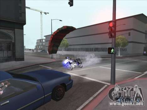 Paracaídas para bajka para GTA San Andreas segunda pantalla
