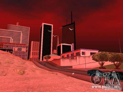Weather manager para GTA San Andreas twelth pantalla