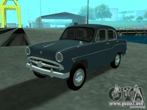 Moskvich 407 para GTA San Andreas