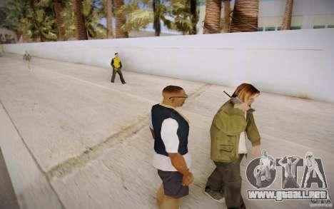 Gente hablando por teléfono para GTA San Andreas