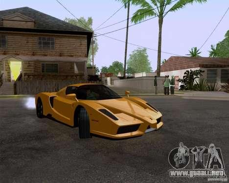 Ferrari Enzo para la visión correcta GTA San Andreas
