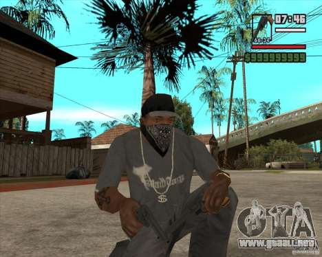 Call of Juarez Bound in Blood Weapon Pack para GTA San Andreas segunda pantalla