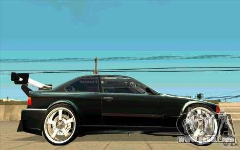 NFS:MW Wheel Pack para GTA San Andreas octavo de pantalla