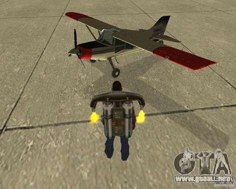 Transporte aéreo Pak para visión interna GTA San Andreas