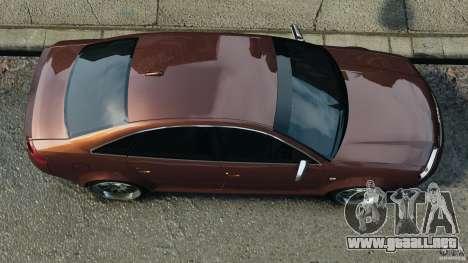 Audi RS6 2003 para GTA 4 visión correcta